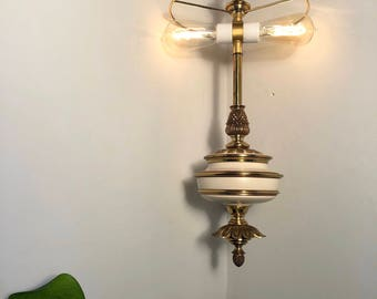 Vintage Stiffel Swag Lamp