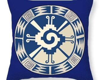 Mayan Hunab Ku Design Tote Bag Gift - Tribal Hunab Ku Throw Pillow Design Gift -  Laptop Tote Bag Gift - Re-Usable Shopping Tote Bag Gift