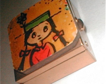 Mod Girl Pillbox - Vintage 60s