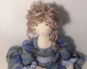 Rag doll pattern / Artist doll pattern / Doll making /  Instand PDF English, french and spanish – Number 9