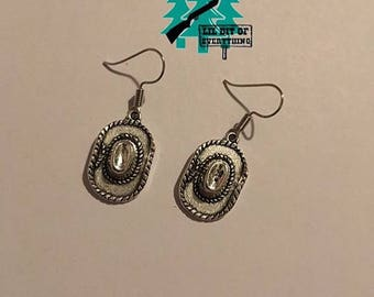 Cowgirl Hat Earrings