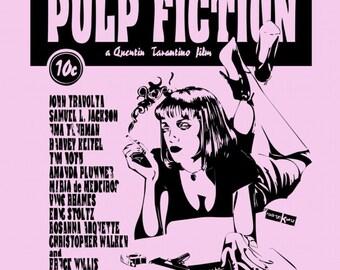 Pulp Fiction poster/print