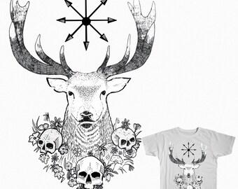 Ciervo Camiseta
