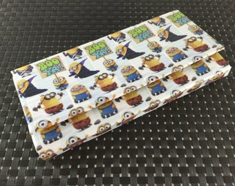 Minions Duck Tape Wallet (with optional cash envelopes)
