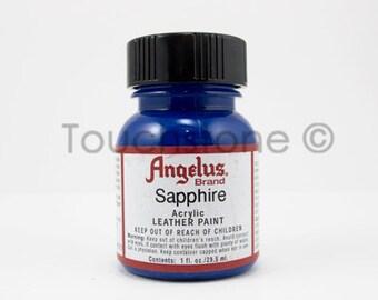 Sapphire Angelus Acrylic Leather Paint 1oz