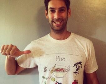 Pho T-shirt: Men's AA Tri-blend Short sleeve