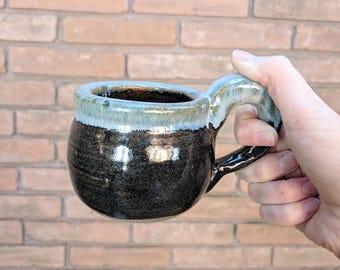 Half a Cup Coffee Mug