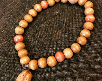 Mala bracelet with brown jasper