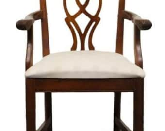 CRESENT FURNITURE Chippendale Arm Chair 8312A