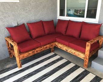 wood outdoor sectional. sectional outdoor wooden couch wood n