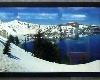 Framed Photography - Crater Lake