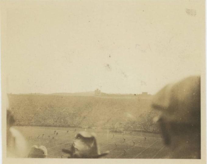 Football Game, c1920s-30s Vintage Snapshot Photo (78598)