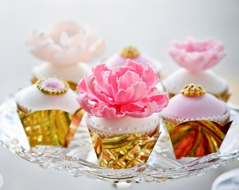 Square Footed Cupcake Cases - Standard (12 pack)
