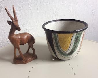 Vintage Ruscha Milano planter german pottery