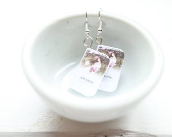 Jane austen earrings and necklace | pride and prejudice