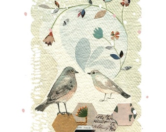 Garden Chatter Print