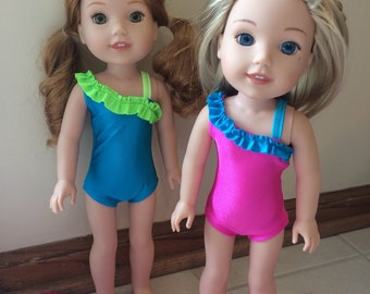 "14.5"" Doll Swimsuit for Wellie Wishers Dolls"