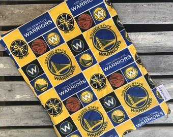 "10""x13"" Travel Wet Bag-Golden State Warriors -Optional Strap Available"