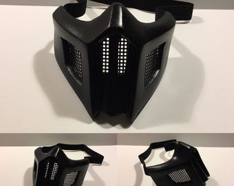 Noob Saibot Mask - Black