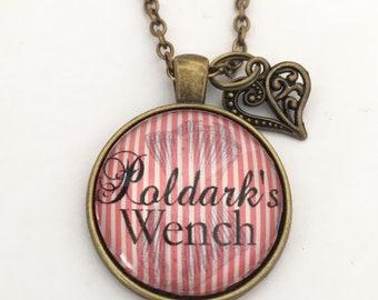 Poldark Pendant 'Poldark's Wench'