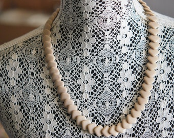 Vintage CUBIST Style Necklace Striking Design Costume Jewelry