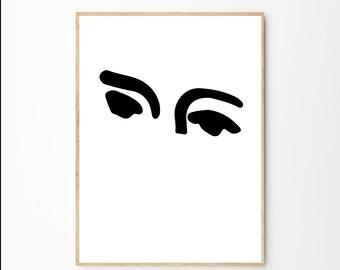 Matisse Print| Henri Matisse | Matisse Poster | Matisse Art | Matisse Cut Out | Fine Art Print | Female Nudity | Matisse Pink Wall Art