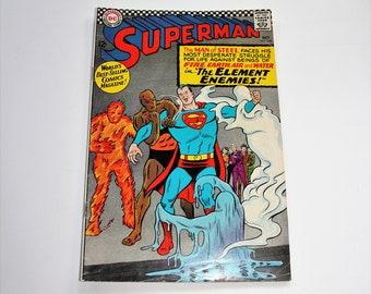 Comic Book Superman DC Comics #190 October 1966 Silver Age