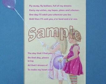 Balloon Art Poem