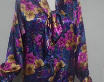 Vintage Laura & Jayne Petite blouse