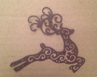 Leaping Reindeer Die Cuts REIN01