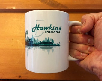 Hawkins Indiana Coffee Cup (Stranger Things)