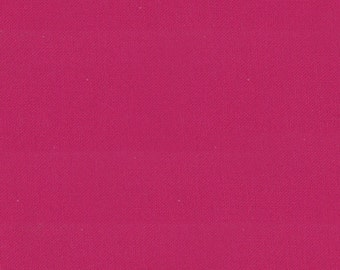 """Pink Solid Fabric - Bella Solids """"Berrylicious"""" by Moda - One Yard"""