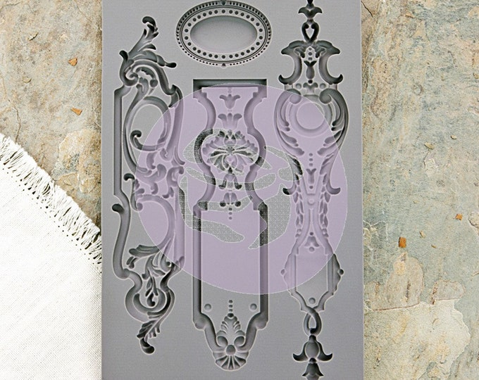 Iron Orchid Designs - Escutcheon I - Moulds