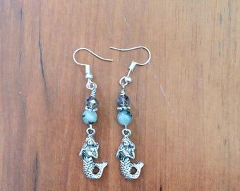 Jasper Mermaid Earrings!