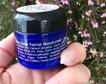 SEA EASE Facial Moisturizer - Crystal Infused Gentle Facial Formula for Hydration and Protection By BethKaya