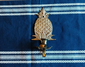 Brass Pineapple Sconce