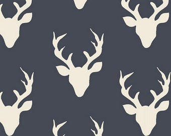 Hello Bear Buck Forest TWILIGHT from Art Gallery Fabrics
