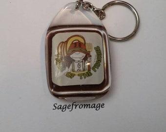Pride of the Prairies keychain