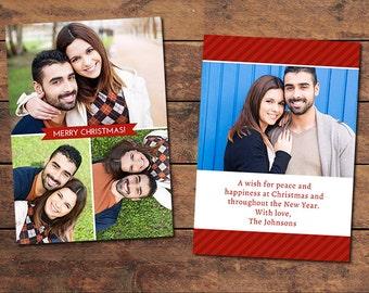 Gift Christmas Card Template
