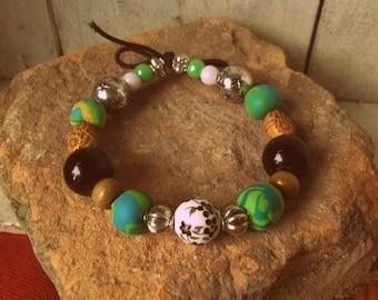 Bracelet, beautiful color!