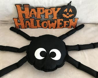 Plush spider Halloween special