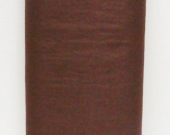 Chocolate Brown 35% Merino Wool Blend Felt and Optional DMC Matching Cotton 6 Strand Embroidery Floss