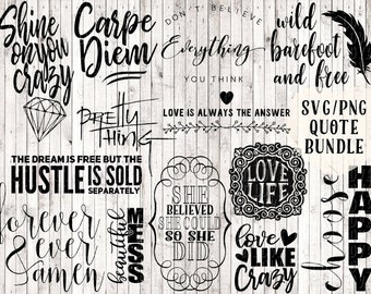 svg bundle, quote svg, svg sayings, quote prints, printables, vinyl decal designs, vinyl svg files, vector art, coffee mug svg, wall quotes