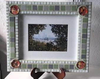 8x10 frame mixed mosaics
