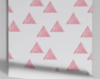 Wallpaper red Triangle