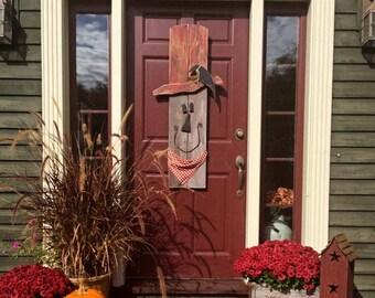 Primitive Scarecrows, Halloween, Fall Decor, Handpainted, Rustic Farmhouse Decor, Door Decor, Autumn, Porch Decor, Home Decor, Thanksgiving