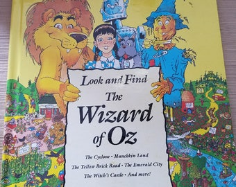 "Wizard of Oz Look and Find (Like Where's Waldo"")"