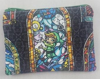 Legend of Zelda Zipper Pouch | Coin Purse | Makeup Bag | Travel Bag