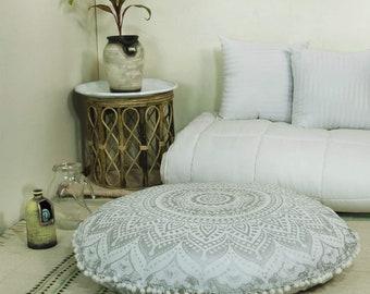 Round floor pillow   Etsy