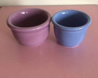 Set of 2  Small Vintage Hall Cups